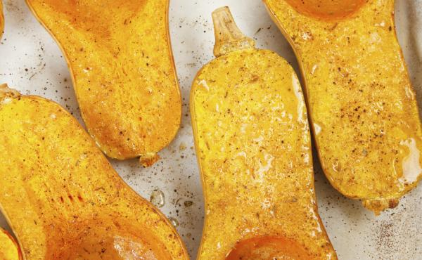 Not only do the flavor and texture of butternut squash improve with time, they actually become more nutritious.