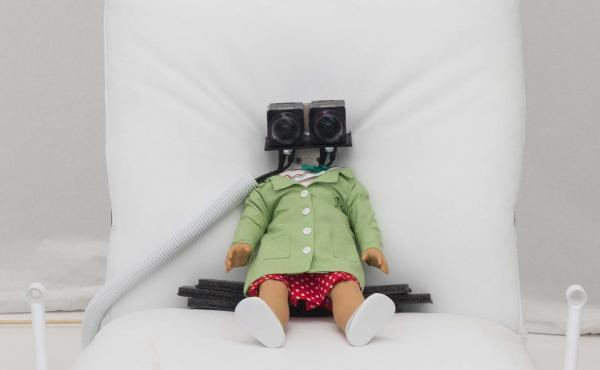 A virtual reality installation allows visitors to experience a doll's perspective as she's poked and prodded by a lab assistant. Read the full story at KQED.