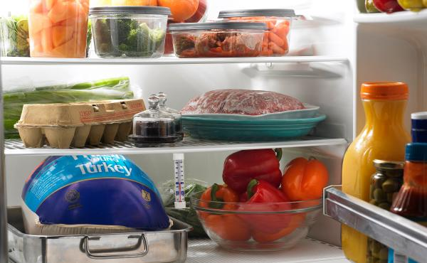 Most fruits and vegetables — particularly after being cut — store better in an airtight container, Gunders says. And it's best to store them in see-through containers so we don't forget about them.