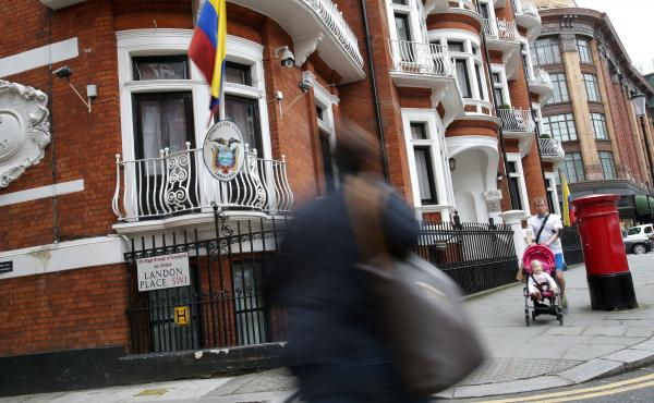 Ecuador has been hosting WikiLeaks founder Julian Assange in its embassy in London for more than four years. Ecuador acknowledged Tuesday it has limited his Internet access because of the website's release of stolen emails that have affected the U.S. pres