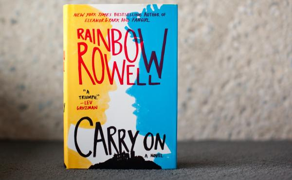 Carry On, by Rainbow Rowell.