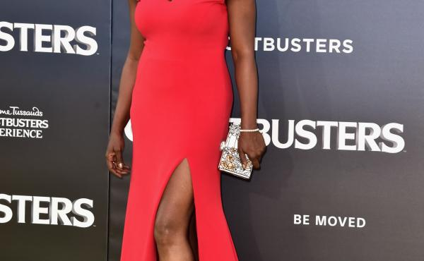 Siriano also designed the dress Leslie Jones wore to the July premiere of Ghostbusters.