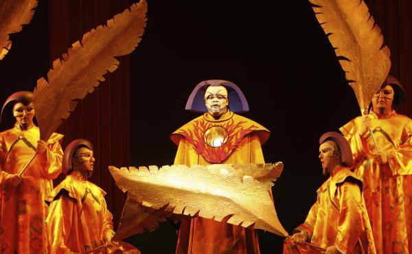 Morris Robinson in the Los Angeles Opera's 2009 production of The Magic Flute.