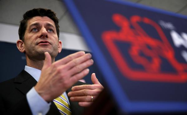House Speaker Paul Ryan is trying to rally Republican lawmakers to vote for the American Health Care Act.