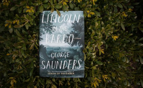 George Saunders' first novel, Lincoln in the Bardo.