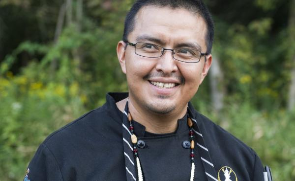 Nephi Craig, executive chef of The Summit Restaurant at Sunrise Park Resort in Whiteriver, Arizona.