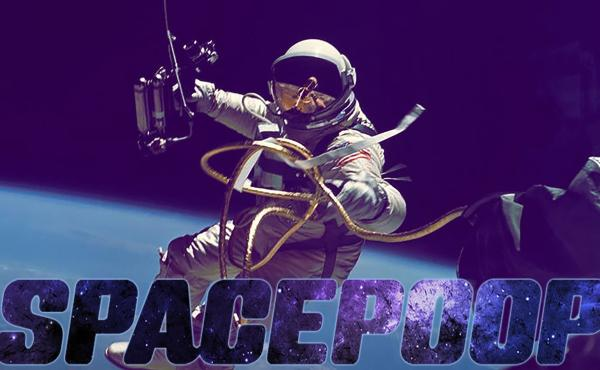 "This is the actual NASA graphic illustrating the ""Space Poop Challenge."""
