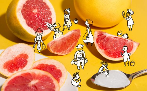 Does salt really make grapefruit taste better?