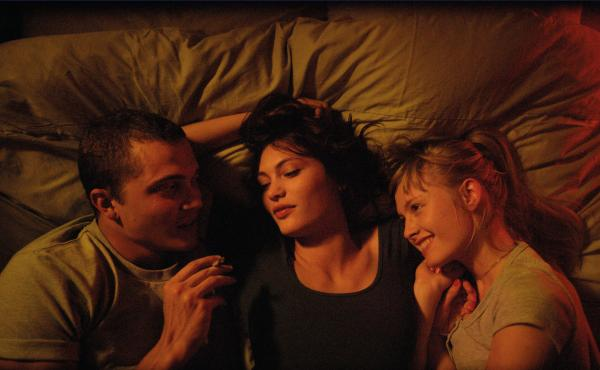 A scene from Gaspar Noé's Love.