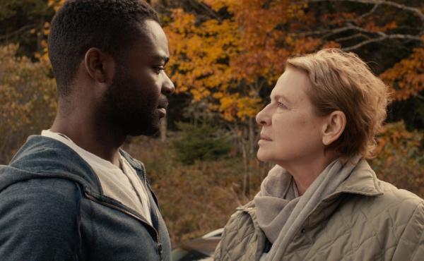 Sherwin (David Oyelowo) and Lucinda (Dianne Wiest) in Five Nights In Maine.