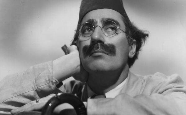 "Julius ""Groucho"" Marx, circa 1935."