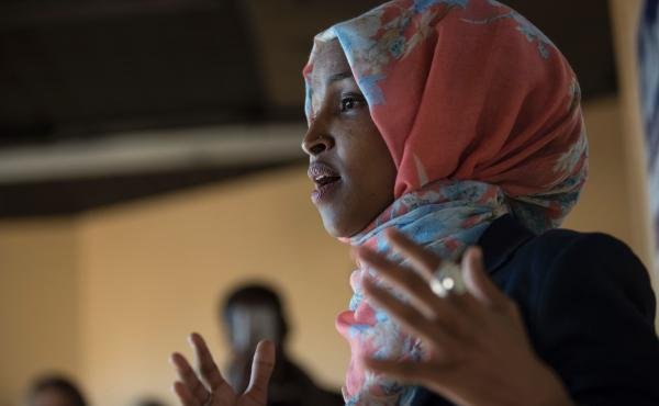 One month after winning a seat in Minnesota's legislature, Ilhan Omar says she was assailed in a cab ride to her hotel from the White House.
