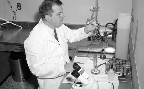 Dr Donald Pinkel, first medical director at St. Jude, led the hospital's leukemia research trials in the 1960s.
