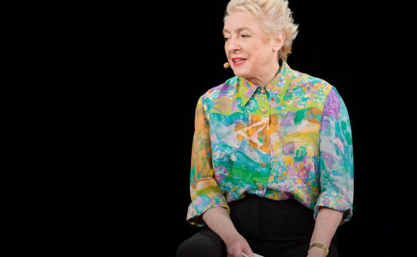 """You can always tell ambitious women by the shape of our heads: They're flat on top for being patted patronizingly."" — Dame Stephanie ""Steve"" Shirley"