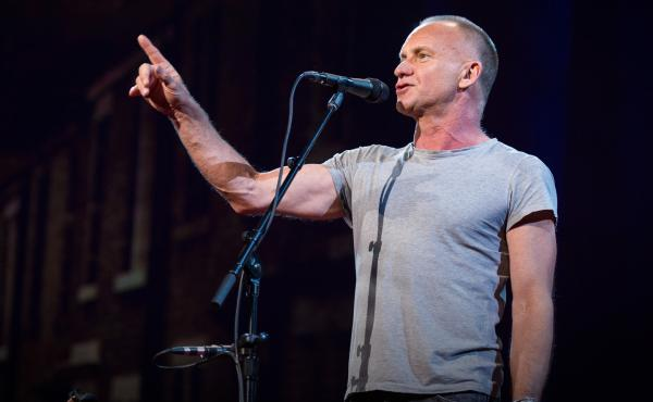 Sting talks about setting aside ego to foster creativity.