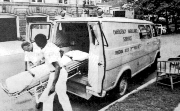 Freedom House paramedics, who first were deployed in the 1960s, provided a crucial service for Pittsburgh residents. The program became a national model for emergency medical transport and care.