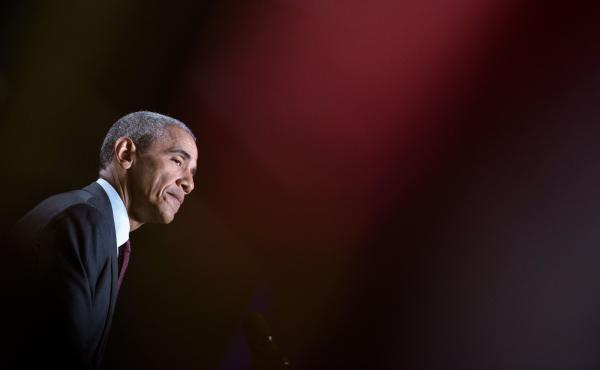 President Obama addresses the 95th National Convention of Disabled American Veterans on Monday in Atlanta.