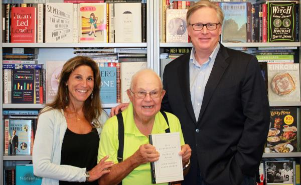 In researching their book, Caren Zucker and John Donvan tracked down Donald Gray Triplett (center), the first person officially diagnosed with autism. Now in his 80s, Triplett has had a long, happy life, Donvan says, maybe partly because his hometown embr