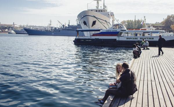 Russia established the Crimean port of Sevastopol in the 18th century. After the Soviet breakup in 1991, Russia and Ukraine shared the naval base. But Russia has now taken the entire base, including Ukrainian ships.