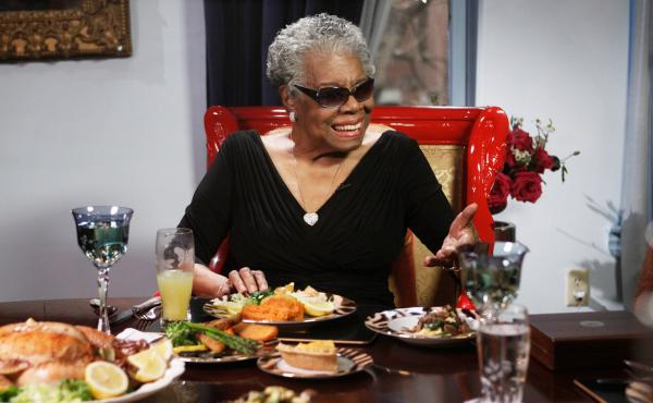 Acclaimed poet Maya Angelou knew how to appreciate a great steak.