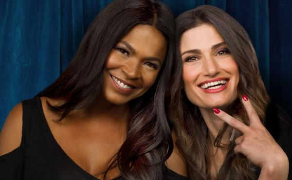 Nia Long and Idina Menzel star in Lifetime's update of Beaches, airing Saturday night.