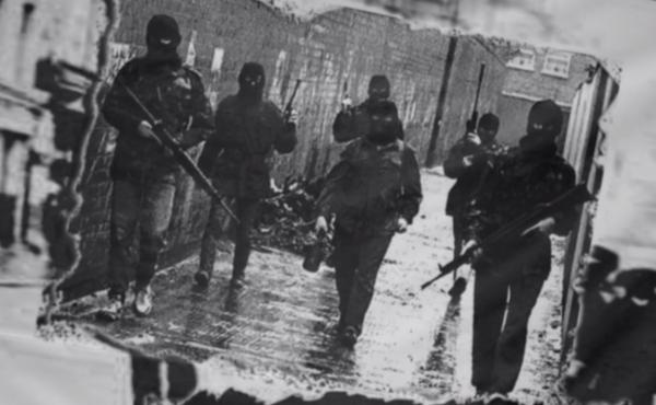 "Sectarian violence in Northern Ireland flared for three decades during ""the Troubles,"" pictured here. Even today, uneasy feelings simmer among those who live there."