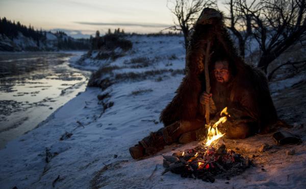 Leonard DiCaprio stares down a treacherous winter wasteland in the new film The Revenant, directed by Alejandro Gonzalez Iñarritu.
