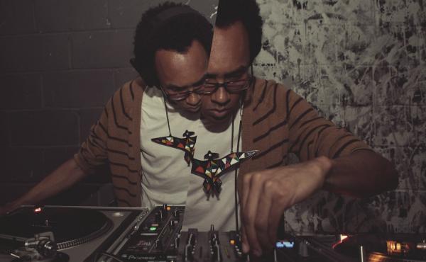 Jace Clayton, a.k.a. DJ /rupture.