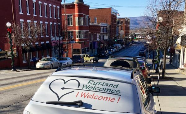 Rutland, Vt., is home to 16,000 residents — including two Syrian refugee families that arrived this month.