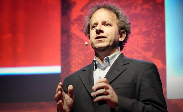 Jeremy Howard on the TED Stage at TEDX BRUSSELS 2014 in Belgium.