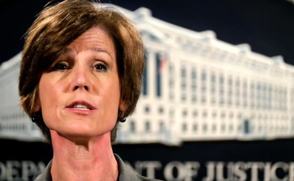 The guidance from Deputy U.S. Attorney General Sally Yates is the first departmentwide policy for DOJ agencies.