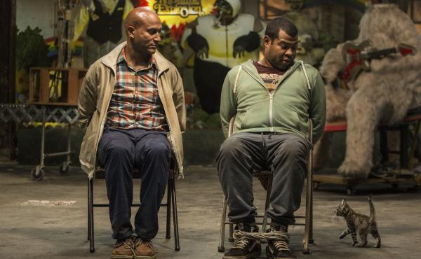 Keegan-Michael Key as Clarence and Jordan Peele as Rell in Keanu.