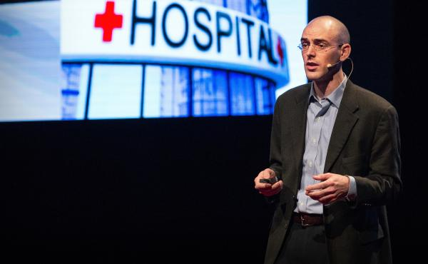 Kevin Jones on the TED Stage in Salt Lake City