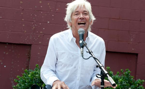 Ian McLagan performs at Grimey's Americanarama in Nashville, Tenn., on Sept. 20. The keyboardist for the Faces and Small Faces, who was also a sideman for the Rolling Stones, died Wednesday. He was 69.