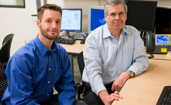 Jeffrey Iliff (left), a brain scientist at Oregon Health & Science University, has been studying toxin removal in the brains of mice. He'll work with Bill Rooney, director of the university's Advanced Imaging Research Center, to enroll people in a similar