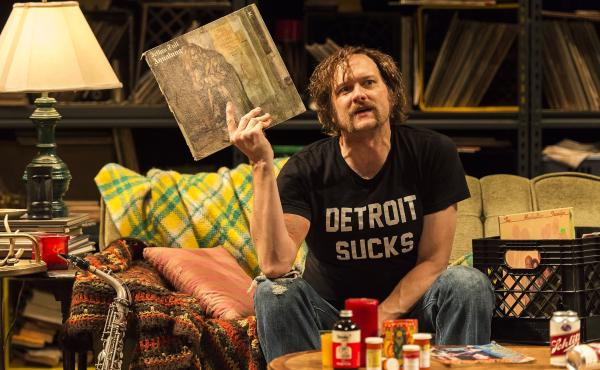 Erik Jensen portrays rock critic Lester Bangs in the new one-man play How to Be a Rock Critic.