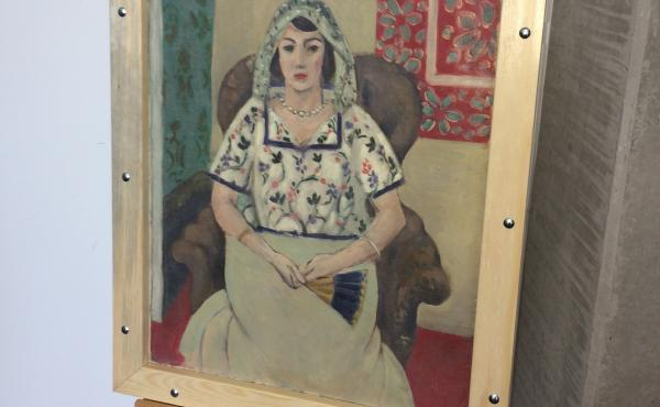 Henri Matisse's Seated Woman was found in an apartment in Munich.
