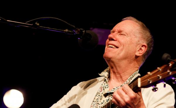Singer-songwriter and actor Loudon Wainwright III performs on Ask Me Another at The Bell House in Brooklyn, New York.