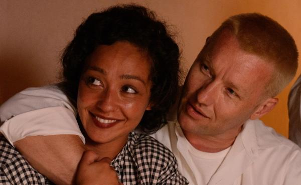 Ruth Negga and Joel Edgarton play married couple Mildred and Richard in the film Loving.