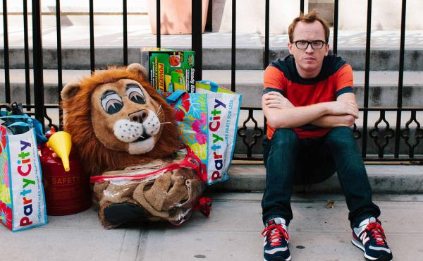 Chris Gethard co-stars in Comedy Central's Broad City and in Mike Birbiglia's film Don't Think Twice. His one-man show, Career Suicide, details his experiences with depression.