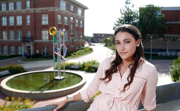 Laticia Aossey was hospitalized while a student at the University of Northern Iowa when she realized she hadn't signed up for health insurance.