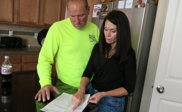 """Rick and Letha Heitman, of Centennial, Colo., bought their health plan in 2015 through Colorado HealthOP, an insurance cooperative that will close at the end of the year. HealthOp's CEO says the co-op was """"blindsided"""" when some promised federal subsidies"""