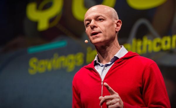 Marco Annunziata speaks at TED@BCG San Francisco, CA.