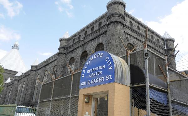 The Baltimore City Detention Center, seen here in 2013, was found to be riddled with corruption, according to a federal probe.
