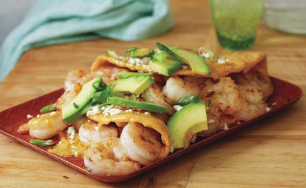 Mexican chef Pati Jinich shares her recipe for shrimp enchiladas from her cookbook, Mexican Today.