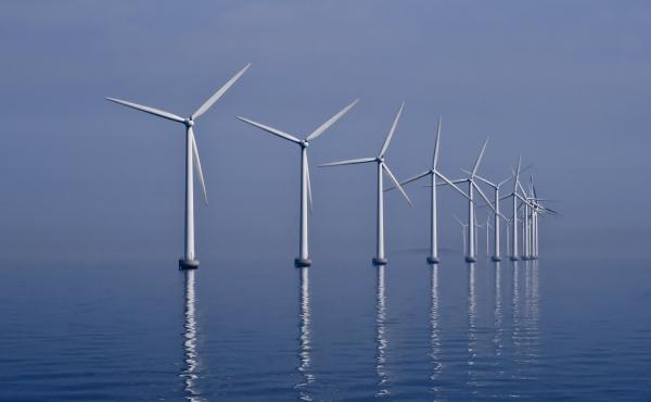 Middelgrunden wind farm 2009-07-01