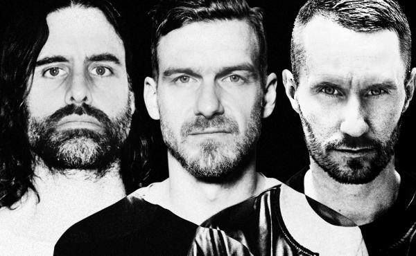 Miike Snow is (left to right) Andrew Wyatt, Pontus Winnberg and Christian Karlsson. The trio's latest album is called iii.