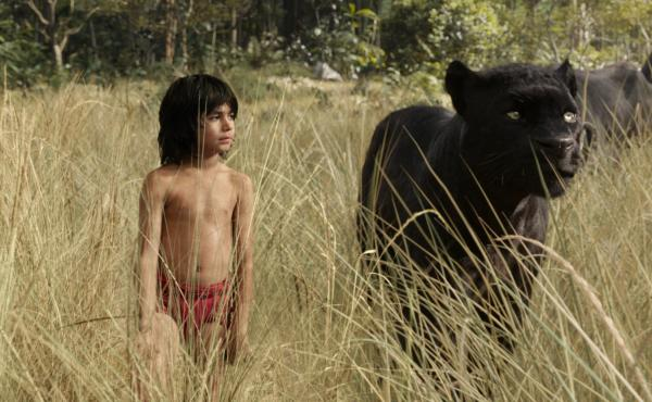 10-year-old Neel Sethi does persuasive work in The Jungle Book's digitized world.