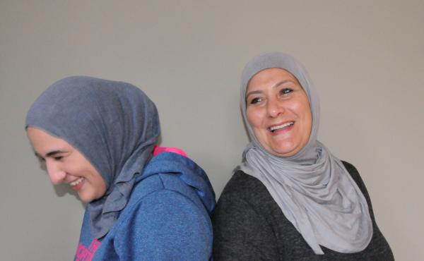 As members of the local Muslim community, Summer Hamad and her daughter Marjan Hamad were personally affected by the murder of three young Muslim-Americans in Chapel Hill, N.C. on Feb. 10th, 2015. After the shootings, they both decided to begin wearing th