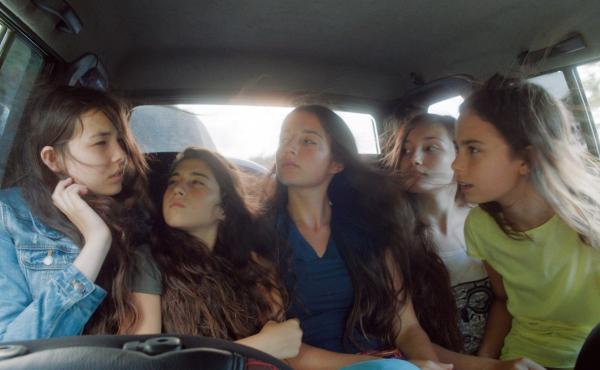 First-time Turkish director Deniz Gamze Ergüven tells the story of five sisters from a contemporary Turkish village in Mustang. (From left) Tugba Sunguroglu, Doga Zeynep Doguslu, Elit Iscan, Ilayda Akdogan and Güneş Şensoy.